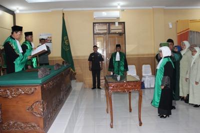 PTA Jambi Gelar Pelantikan Hakim Tinggi dan Ketua PA Jambi | (21/5)