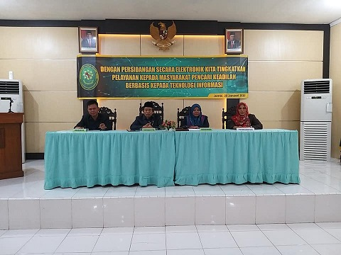 Rapat Koordinasi, Diskusi Hukum dan Penandatanganan Pakta Integritas di Pengadilan Tinggi Agama Jambi | (23/1)